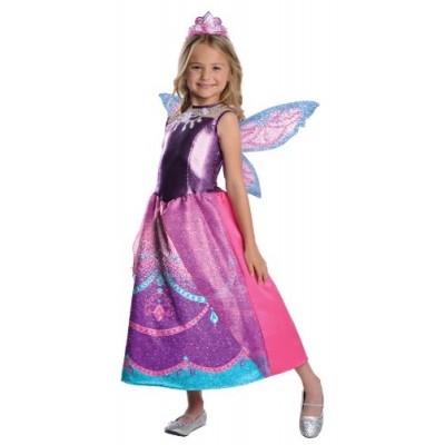 Barbie Fairytopia Mariposa and Her Butterfly Fairy Friends Deluxe Catania Costume, Toddler 1-2