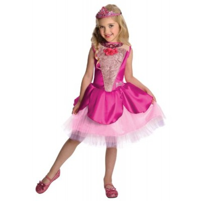 Barbie in The Pink Shoes Deluxe Kristyn Costume, Medium