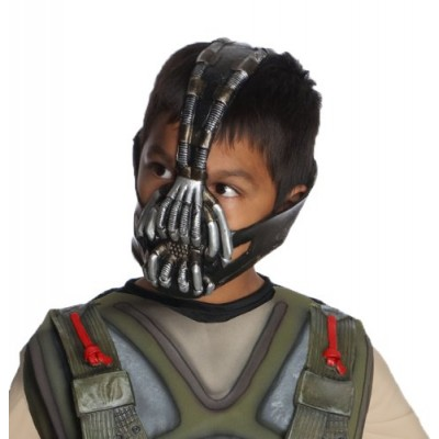 Batman: The Dark Knight Rises: Bane 3/4 Mask, Child Size (Black)
