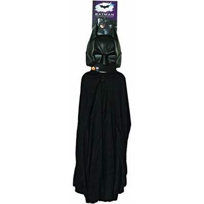 Batman: The Dark Knight Rises: Batman Cape and Mask Set, Child Size (Black)