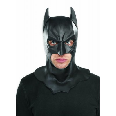 Batman The Dark Knight Rises Full Batman Mask, Black, One Size