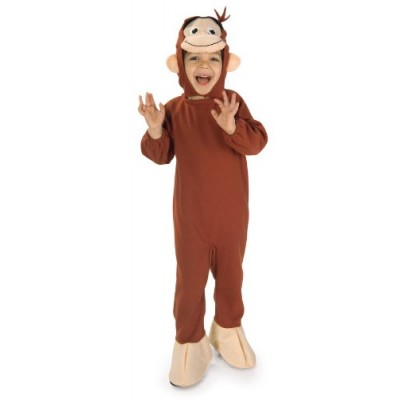 Curious George Costume, Monkey, Toddler