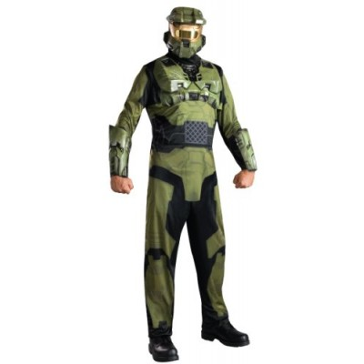 Halo Master Chief Costume, Green, X-Small