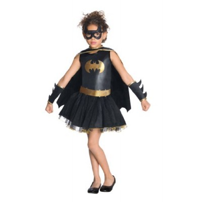 Justice League Child's Batgirl Tutu Dress - Medium