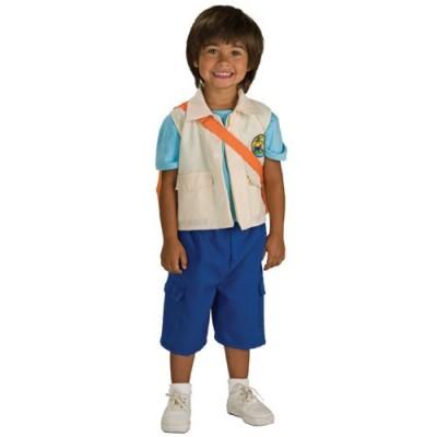 Little Boys' Deluxe Child Diego Costume Medium