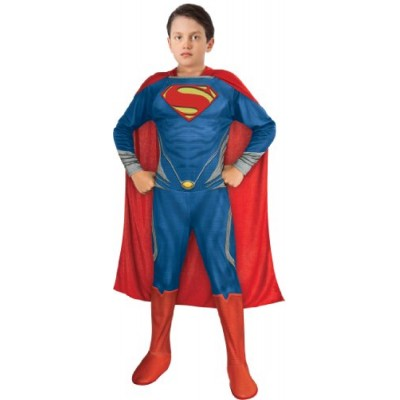 Man of Steel Superman Children's Costume, Medium