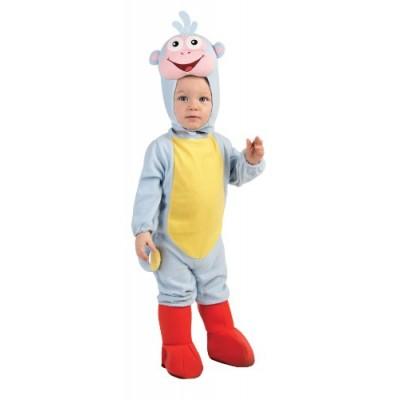 Nickelodeon Toddler Dora the Explorer Romper And Headpiece Boots,  , Newborn