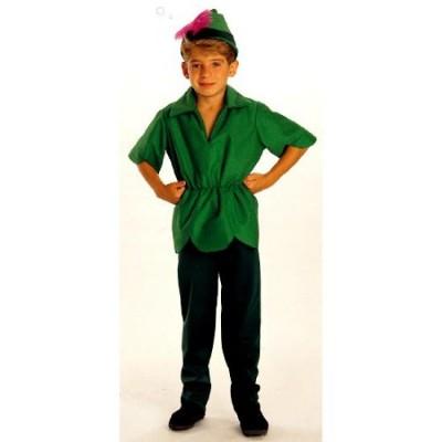 Peter Pan Costume, Children's Medium