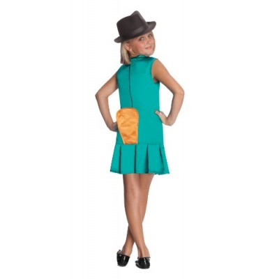 Phineas and Ferb Sassy Agent P. Girls Costume - Large
