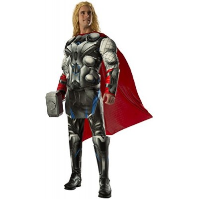Rubie's Costume Co Men's Avengers 2 Age Of Ultron Deluxe Adult Thor Costume, Multi, Standard