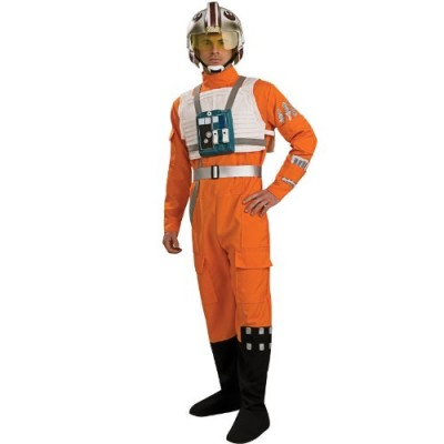 Rubie's Costume Star Wars A New Hope X-Wing Pilot, Orange, Medium