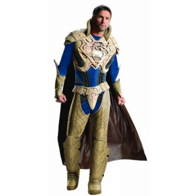 Rubie's Costume Superman, Man of Steel Deluxe Muscle Chest Jor-El, Multi-Colored, Large Costume