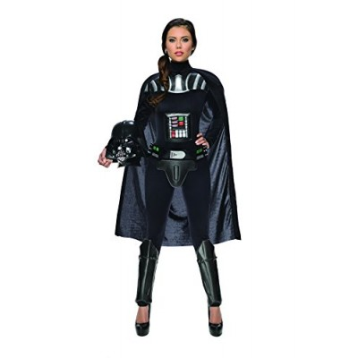 Rubie's Costume Women's Star Wars Darth Vader Woman's Deluxe Costume Jumpsuit, Multi, X-Small