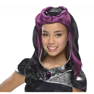Rubies Ever After High Child Raven Queen Wig with Headpiece