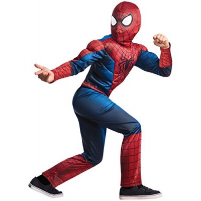 Rubie's Marvel Comics Collection, Amazing Spider-man 2, Deluxe Spider-man Costume, Child Medium - Child Medium One Color