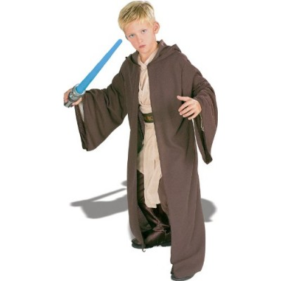 Rubies Star Wars Deluxe Hooded Jedi Robe, Large