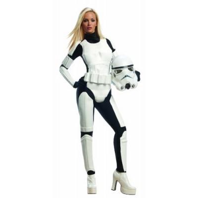 Rubie's Star Wars Female Stormtrooper, White/Black, Medium