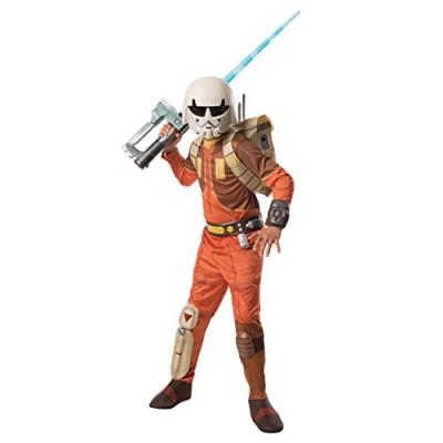 Rubies Star Wars Rebels Deluxe Ezra Costume, Child Medium