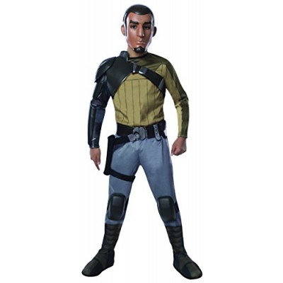 Rubies Star Wars Rebels Deluxe Kanan Costume, Child Large
