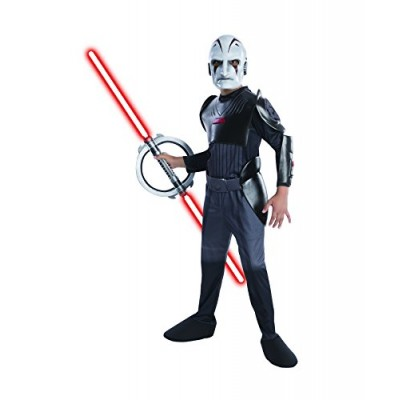 Rubies Star Wars Rebels Deluxe Sith Inquisitor Costume, Child Small
