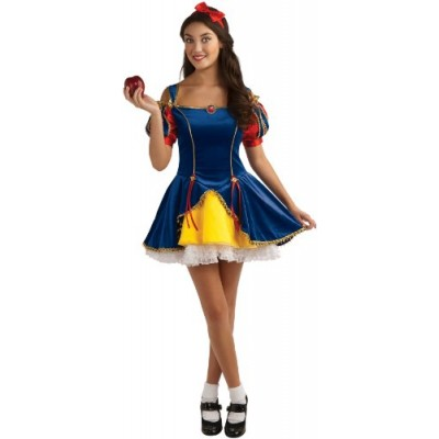 Rubie's Teen Sensations Fairy Tale Princess Costume Dress with Brooch and Headband, Multicolor, Standard