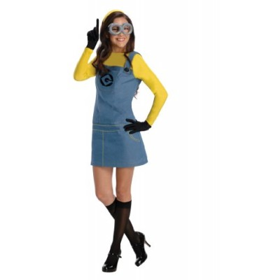 Rubie's Women's Despicable Me 2 Minion Costume with Accessories, Multicolor, Medium