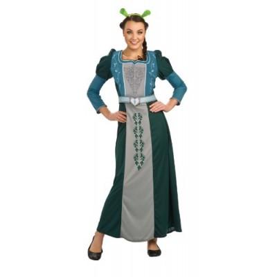 Shrek Deluxe Fiona Costume, Green, Standard