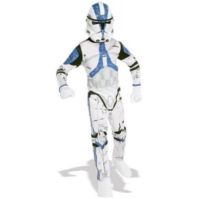 Star Wars Child's Clone Trooper Costume, Large
