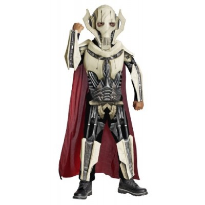 Star Wars Deluxe General Grievous Costume - One Color - Medium