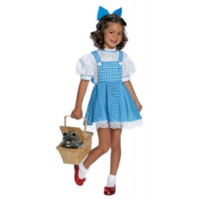 Wizard of Oz Child's Deluxe Dorothy Costume, Small