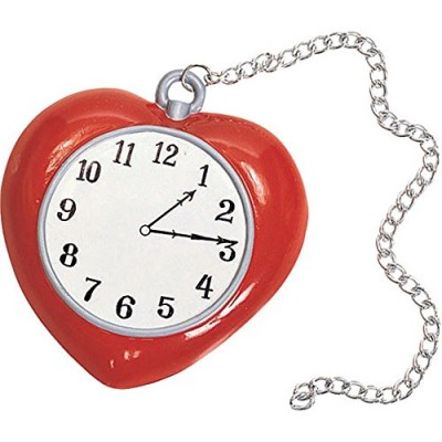 Wizard of Oz Tin Man Heart Clock Costume Accessory