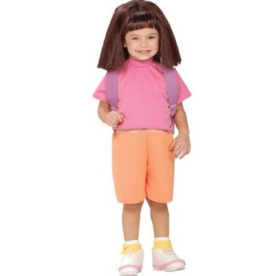 WMU 568463 Dora The Explorer Child Shirt and Short - Small 6-8