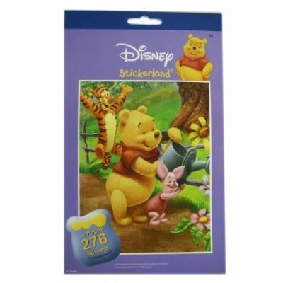 Disney Collection 276pc Winnie the Pooh Sticker Pad Set - Winnie the Pooh Stickers