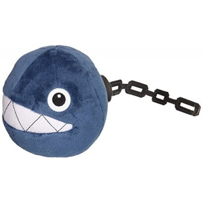 "5"" Official Sanei Chain Chomp Soft Stuffed Plush Super Mario Plush Series Plush Doll Japanese Import"