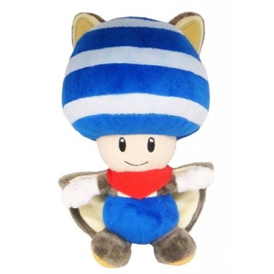 Little Buddy Toys Nintendo Flying Squirrel Toad 8 Plush, Blue