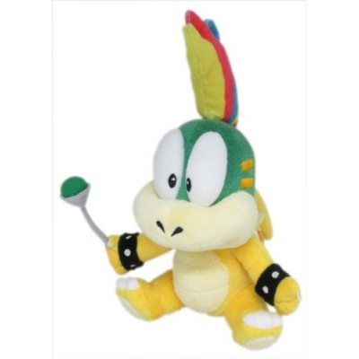 Sanei Super Mario Plush Series Lemmy Koopa/Remi Plush Doll, 8""