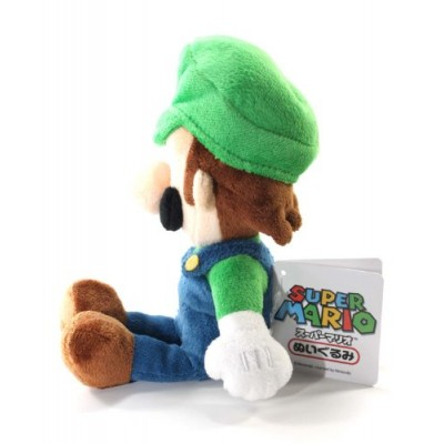 "Super Mario Plush - 8"" Luigi Soft Stuffed Plush Toy Japanese Import"