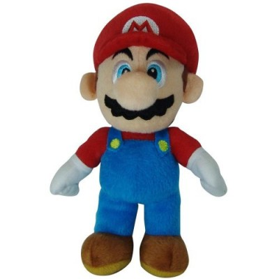 "Super Mario Plush - 8"" Mario Soft Stuffed Plush Toy (Japanese Import)"