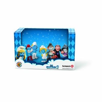 Schleich Smurf Set Movie 2013 Toy Figure