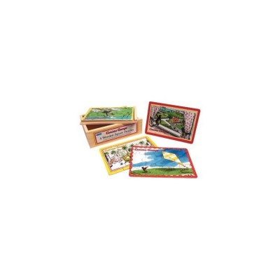 Curious George: 4-in-1 Jigsaw Puzzle