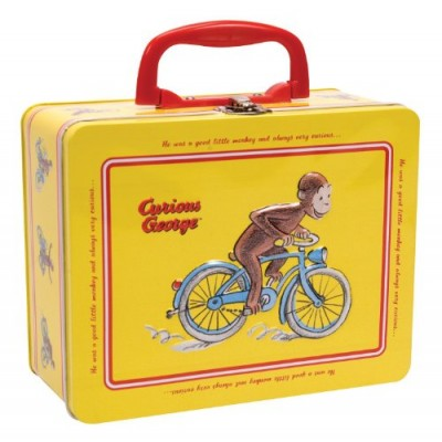 Curious George Tin Keepsake Box with Latch by Schylling