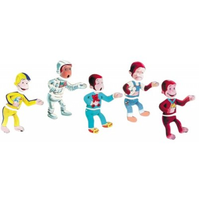 Schylling Curious George Moody Puzzle