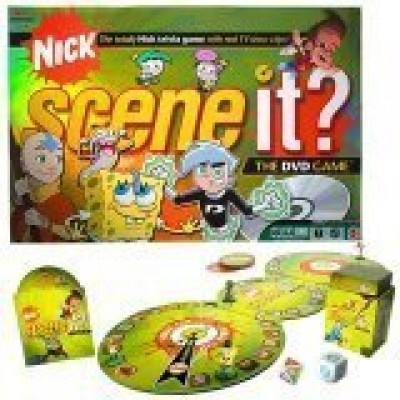 Scene It? Nickelodeon DVD Board Game