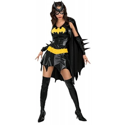 DC Comics Deluxe Batgirl Adult Costume, Medium