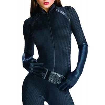 Secret Wishes Batman Dark Knight Rises Adult Catwoman, Black, Medium