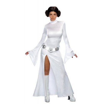 Secret Wishes Star Wars Sexy Princess Leia Costume, White, L (10)