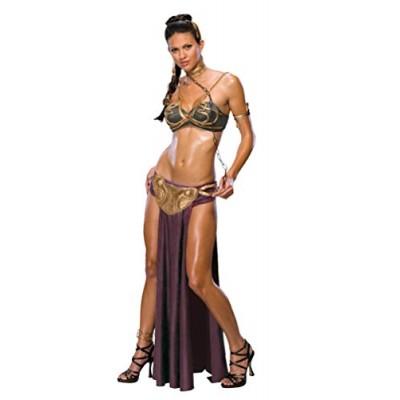 Secret Wishes Star Wars Sexy Princess Leia Slave Costume, Multicolor, L (10)