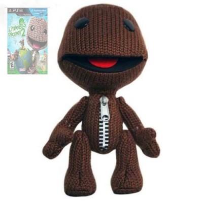 """Little Big Planet 2 Sackboy Plush Doll Toy 7"""""""