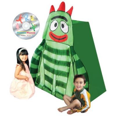 Yo Gabba Gabba Brobee Play Tent with DVD