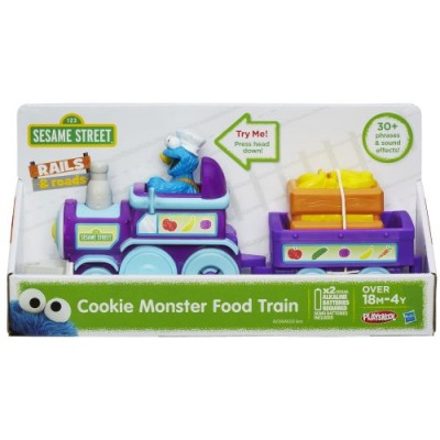 Playskool Sesame Street Cookie Monster Food Train
